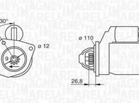 Electromotor FIAT 131 Familiare/Panorama MAGNETI MARELLI 063217154010