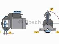 Electromotor FORD MONDEO III limuzina (B4Y) BOSCH 0 986 021 351