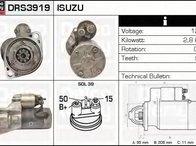 ELECTROMOTOR ISUZU TROOPER 3.0 DTI