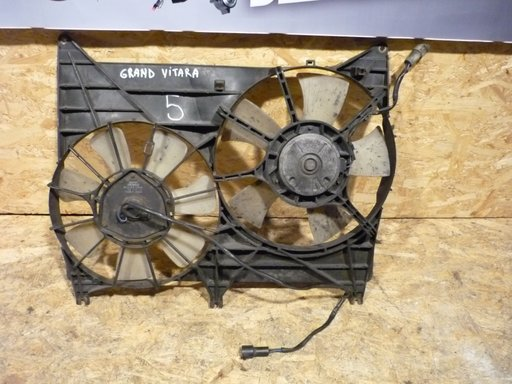 Electroventilator motor (apa) si clima + carcasa Suzuki Grand Vitara 2.0td