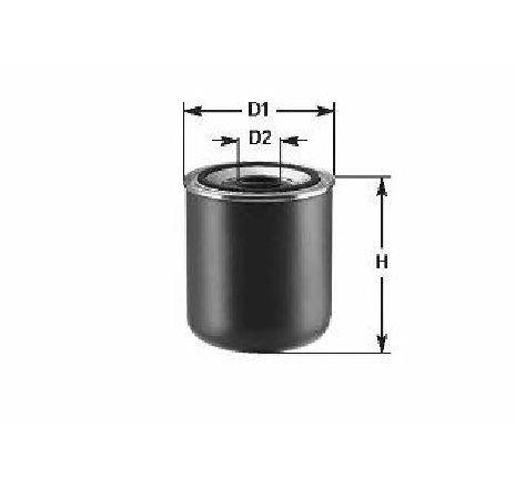 Element filtrant uscator aer compresor FIAT SCUDO Combinato ( 220P ) 02/1996 - 12/2006 - producator QWP WAD203 - 301543 - Piesa Noua