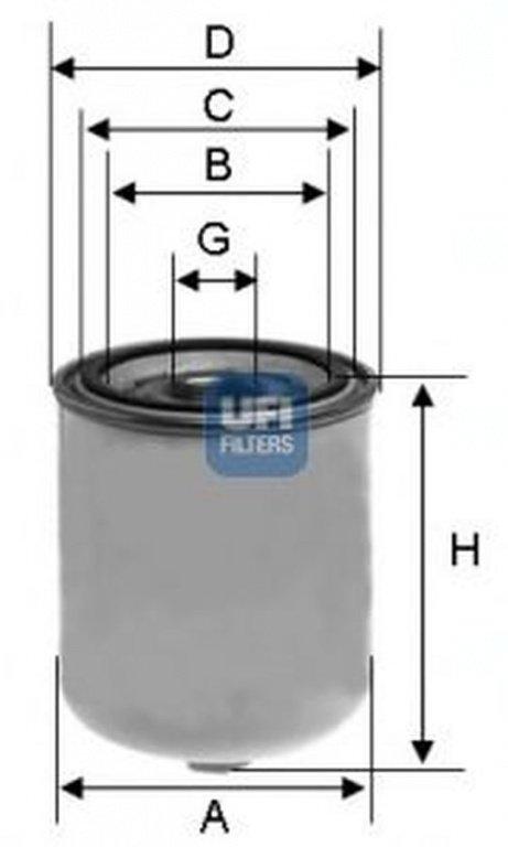 Element filtrant uscator aer, compresor, RENAULT T