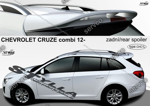 Eleron adaos haion tuning sport Chevrolet Cruze Combi Break Caravan 2008-2016 v4
