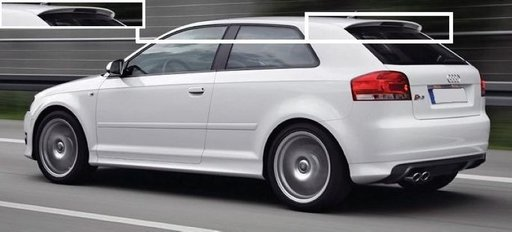 Eleron hayon Audi A3 8P S3 S 3 2003 Coupe
