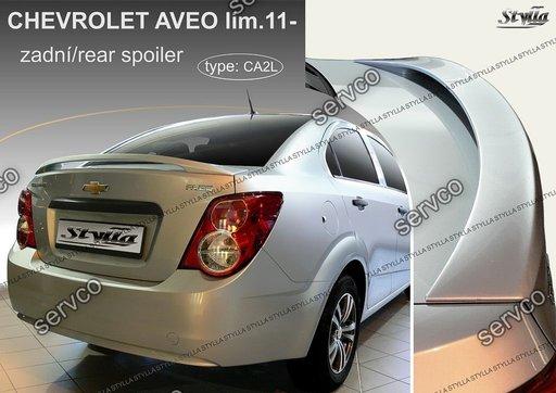 Eleron portbagaj tuning sport Chevrolet Aveo Sedan Limuzina Mk2 T300 2011-2017 ver2