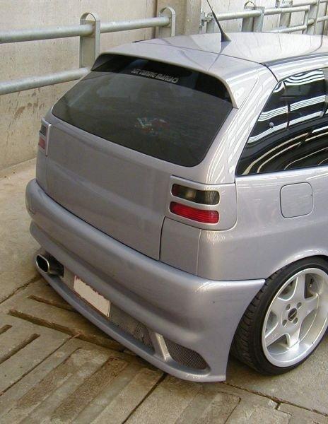 Eleron spoiler hayon Seat Ibiza 1994 1999 ver2