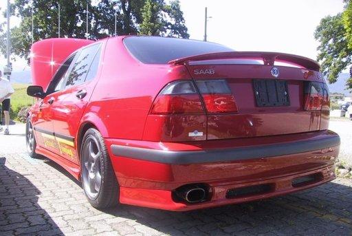 Eleron spoiler portbagaj Saab 9-5 9 5 95 sedan