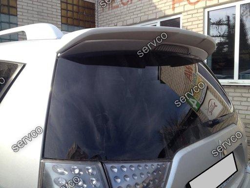 Eleron spoiler tuning sport Mitsubishi Outlander Mk2 2006-2012 ver1