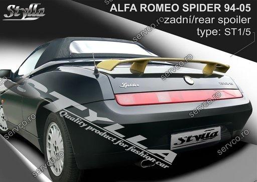 Eleron spoiler tuning sport portbagaj Alfa Romeo Spider 1994-2005
