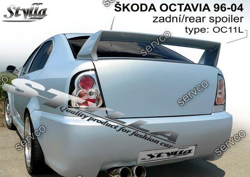 Eleron spoiler tuning sport portbagaj Skoda Octavia 1 Mk1 1U WRC RS Vrs 1996-2006 ver13