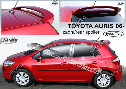 Eleron spoiler tuning sport Toyota Auris Mk1 E150 2006–2012 ver1