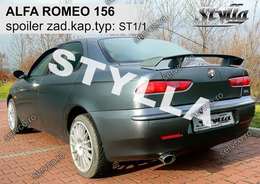 Eleron tuning sport portbagaj Alfa Romeo 156 1996-2007 v4