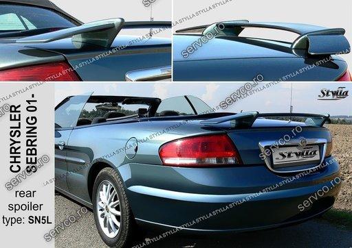 Eleron tuning sport portbagaj Chrysler Sebring 2001-2005 v1