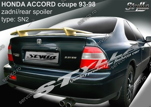 Eleron tuning sport portbagaj Honda Accord Coupe 1993-1998 v1