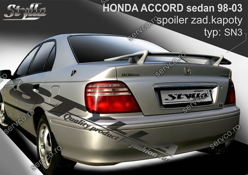 Eleron tuning sport portbagaj Honda Accord MK6 Sedan 1998-2003 v1