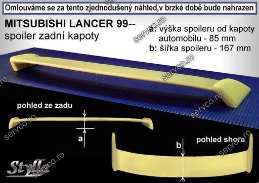 Eleron tuning sport portbagaj Mitsubishi Lancer Sedan 1995-2003 v1