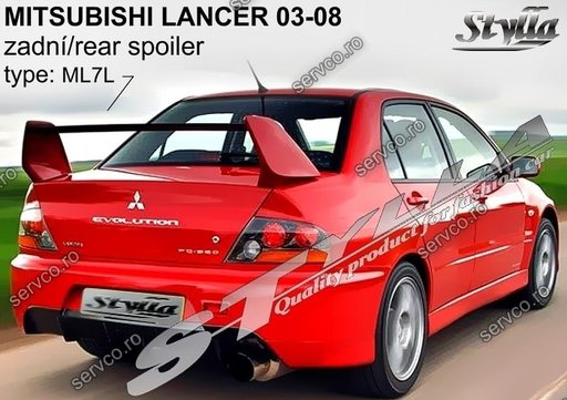 Eleron tuning sport portbagaj Mitsubishi Lancer Sedan 2003-2008 v2