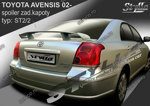 Eleron tuning sport portbagaj Toyota Avensis Mk2 T250 Sedan 2003-2009 v4