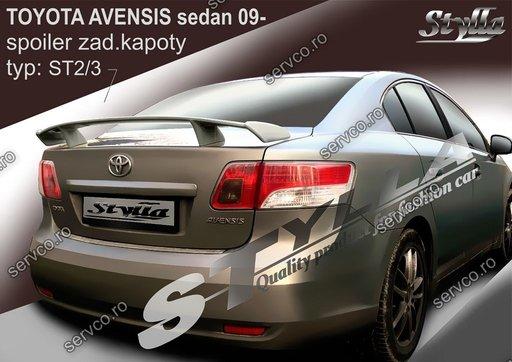 Eleron tuning sport portbagaj Toyota Avensis Mk3 T270 Sedan 2009-2018 v5