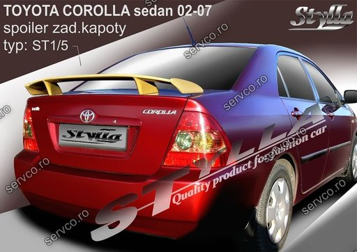 Eleron tuning sport portbagaj Toyota Corrolla E12 E13 Sedan 2002-2007 v5