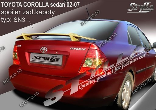 Eleron tuning sport portbagaj Toyota Corrolla E12 E13 Sedan 2002-2007 v4