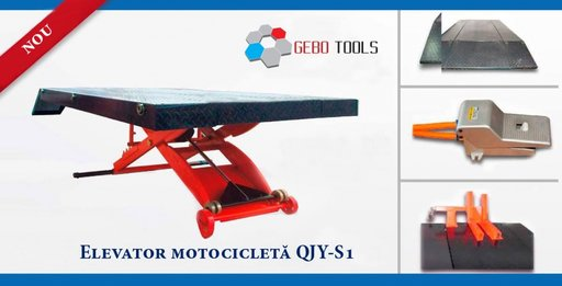 Elevator motocicleta tip foarfeca cod: QJY-S1