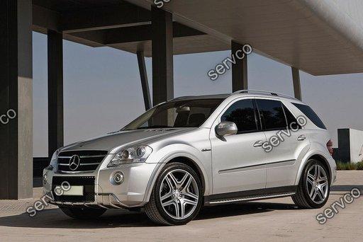 Evazari prelungiri overfender Aripi Mercedes ML W164 M-Class AMG 2005-2011 ver1