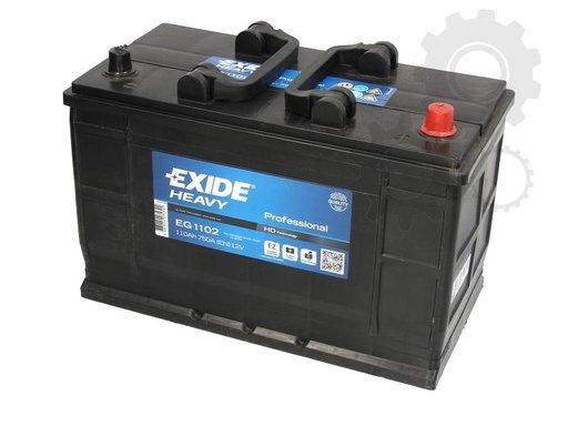 Exide baterie auto 12v 110ah 750a