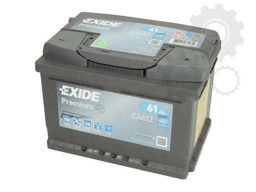 Exide premium baterie auto 12v 61ah 600A