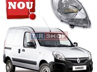 Far dreapta Renault Kangoo facelift / faza2 2003-2008, cu semnal alb | Livrare Rapida