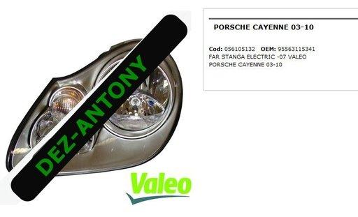 Far stanga electric Porsche Cayenne