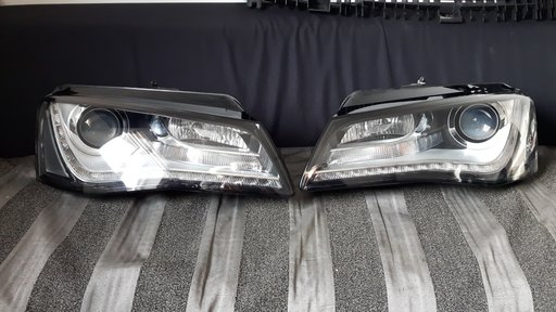Faruri Audi A8 stanga dreapta 4H0941004P 4H0941003P 2009 - 2013