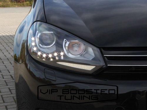 Faruri Bixenon cu led Volkswagen Golf 6 VI GTI Design