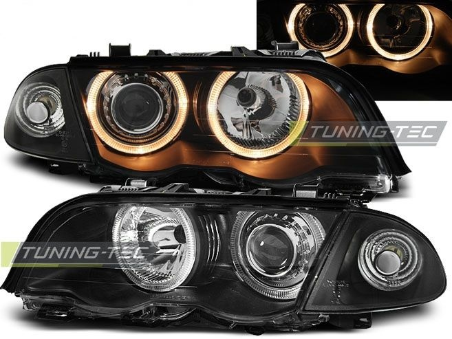 Faruri BMW E46 NFL Angel Eyes Black 1998-2001