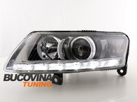 Faruri LED Audi A6 C6 4F pentru Xenon original
