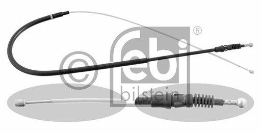 Febi cablu frana de mana spate pt audi a3 8p,octavia 2,golf 5,jetta 3