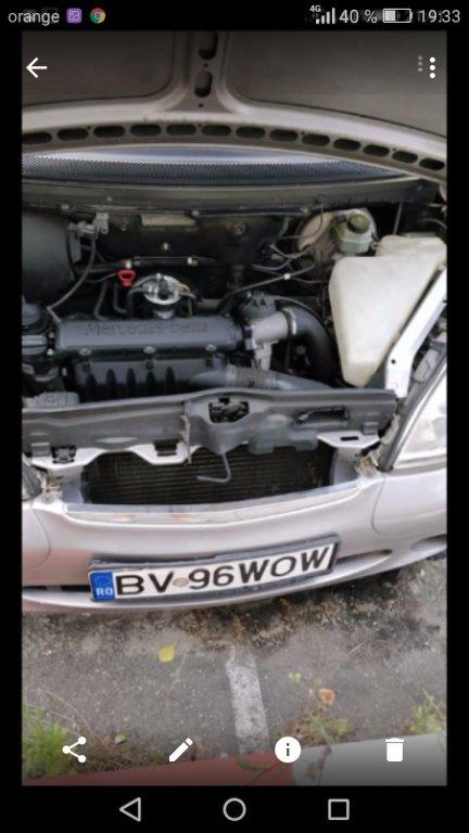 Filtru aer complet -original (Mercedes a-class w16