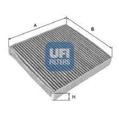 Filtru, aer habitaclu SAAB 9 3 YS3F PRODUCATOR UFI