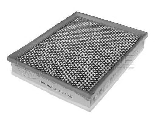 Filtru aer OPEL ASTRA G/H 01- 1,3-2,0D - Cod OEM: MEYLE: 612 321 0008|6123210008 - Cod intern: W02238028