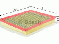 Filtru aer OPEL ASTRA H/ZAFIRA 1,9CDTI - Cod OEM: MAXGEAR: 26-0613 AF-8156 - Cod intern: W02278516
