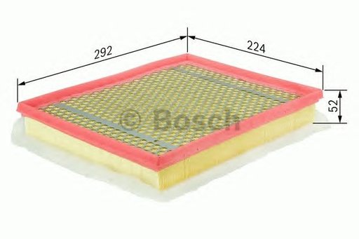 Filtru aer OPEL ASTRA H/ZAFIRA 1,9CDTI - OEM-BOSCH: F 026 400 012|F026400012 - Cod intern: W02072514