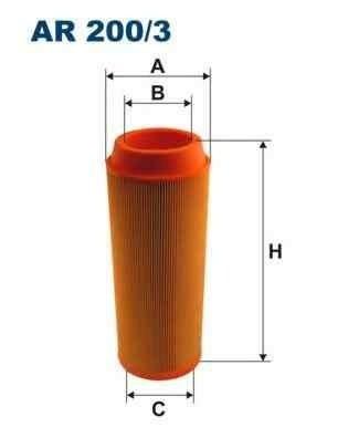 Filtru aer Producator FILTRON AR200/3