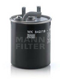 FILTRU COMBUSTIBIL - MANN-FILTER - WK 842/19