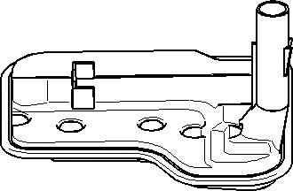 Filtru hidraulic, cutie de viteze automata BMW 1 (E81) TOPRAN 501 751