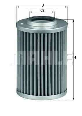 Filtru hidraulic, cutie de viteze automata DAF CF 75 KNECHT HX 40