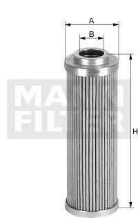 Filtru hidraulic sistem directie Producator MANN-FILTER HD 57/4