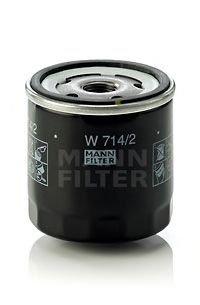 Filtru ulei ALFA ROMEO 145 (930) (1994 - 2001) MANN-FILTER W 714/2 - produs NOU