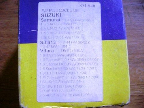 Filtru ulei Suzuki Samurai , SJ413 , Vitara cod SM840