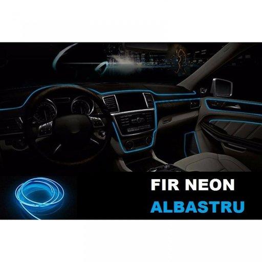 Fir Neon Albastru - Lungime 2M