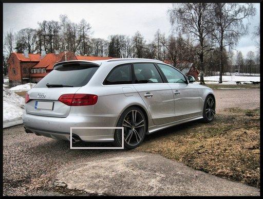 Flapsuri bara spate Audi A4 B8 8K S4 RS4 S line ver5